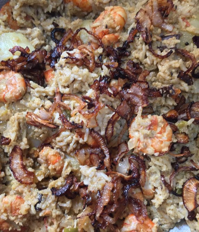 Kolambi Rice (Prawn Pulao)